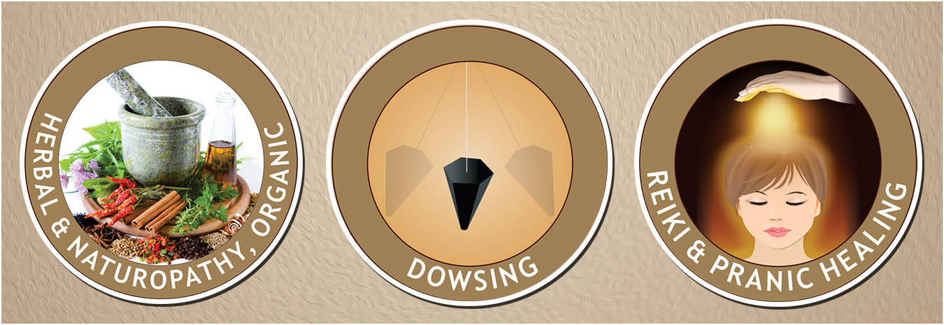 Herbal and Naturopathy Dowsing Reike and Pranic Healing