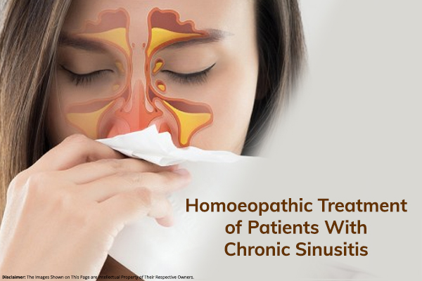 Homoeopathic Treatment of Patients With Chronic Sinusitis